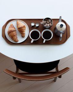 Enjoying home-made cafe