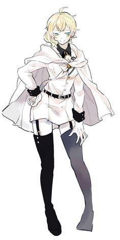 Mikaela Hyakuya, Seraph Of The End, Owari No Seraph, Wattpad, Anime Guys, Cool Girl, Poses, Female, Drawings