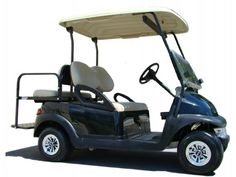 Certified Pre-Owned/Used (New Batteries) 4 Passenger Electric Golf Cart Used Golf Carts, Golf Carts For Sale, Custom Golf Carts, Electric Golf Cart, Certified Pre Owned, Club, Black, Black People