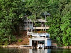 Arts & Crafts Waterfront Home on Lake Lure