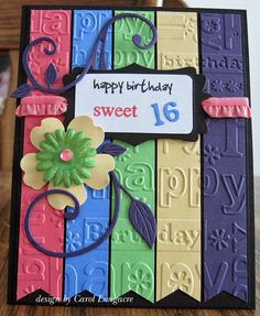 Sweet Sixteen - Our Little Inspirations