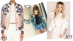 Bomber jacket onde comprar bomber jaqueta transparente organza telada floral street style verão 2017 tendência trend