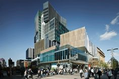 one40william is a Wonderfully Stacked Volume That Sets the Benchmark for Sustainable Design in Perth's City Centre | Inhabitat - Sustainable Design Innovation, Eco Architecture, Green Building