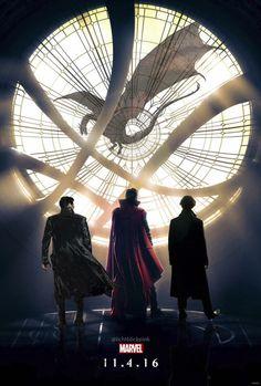 Doctor Strange Poster | Benedict Cumberbatch Smaug, Khan, Doctor Strange, Sherlock