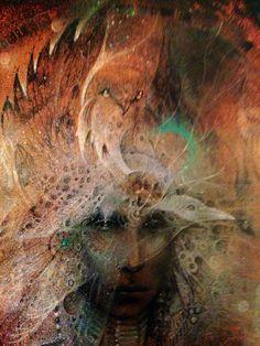 """""""Shaman Dreams (zoom)"""" par Susan Seddon Boulet a verifier"""