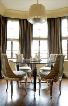 Paris Based designer Jean Louis Denoit has perfected Regency design for today's consumer. He designs homes all over the world.
