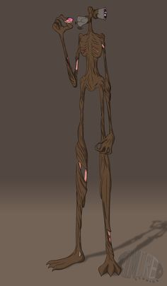 How does Timcreo draw Sirenhead by Timcreo on DeviantArt Monster Drawing, Cat Drawing, Tf2 Memes, Scary Images, Horror Drawing, Creepy Drawings, Villainous Cartoon, Fantasy Story, Monsters