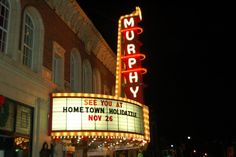 Historic Murphy Theater in Wilmington, OH