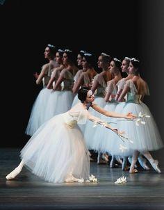 Diana Vishneva in Giselle.  Photo (c) Gene Schiavone/American Ballet Theatre.