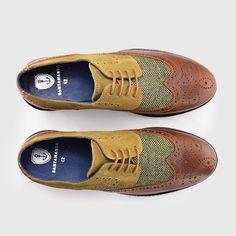 newest 5a052 1a422 Zapato caballero Texas verde (2)