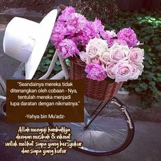 Islamic Inspirational Quotes, Pink, Pink Hair, Roses