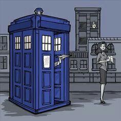 Doctor who fan art by karen hallion