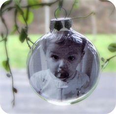 glass ball DIY ornaments CHRISTMAS