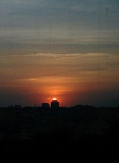 Sunset happens everywhere,timing wat matters
