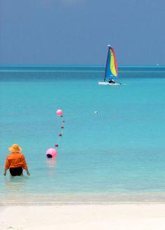 Treasure Cay beach on the Abaco mainland.