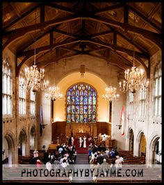 The chapel at Culver Academies, IN
