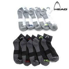 10 Pairs: Head Moisture-Wicking Socks - Assorted Styles at 77% Savings off Retail!