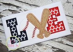 Baseball Love 3 Applique - 3 Sizes! | What's New | Machine Embroidery Designs | SWAKembroidery.com The Itch 2 Stitch