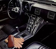 I wish I knew what car this interior belonged to.