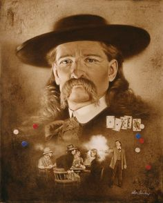 """Dead Mans Hand....Aces & Eights """"Wild Bill Hitchcock"""""""
