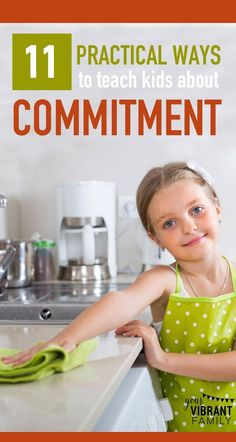 Commitment—it's such an important character trait for kids to learn! How can we… #teensparenting