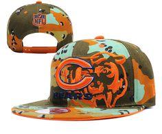 NFL CHICAGO BEARS CAMO NEW ERA 9FIFTY SNAPBACK Hats|only US$8.90