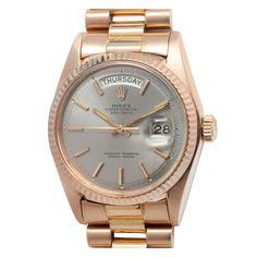 1stdibs | Rolex Rose Gold Day-Date President Wristwatch circa 1973