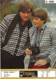 Oddvar k 5000 Hand Knitting, Knitting Patterns, Norwegian Knitting, Yarn Crafts, Couple Photos, Boys, Jumpers, Knits, Jackets