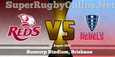 #Reds vs #Rebels Live Stream 2020 | Rd 7 - Full Match Replay #SuperRugby #Rugby Brisbane, Melbourne, Rugby Games, Super Rugby, Full Match, Sporting Live, Replay, Rebel, Competition