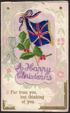 Ww 1 silk #christmas #greeting #card, (2).,  View more on the LINK: http://www.zeppy.io/product/gb/2/331872287486/