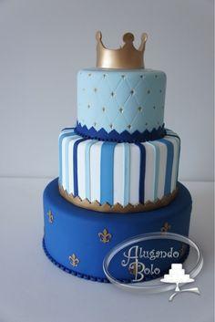 locação bolo fake DE EVA - Pesquisa Google Boy Birthday, Birthday Cake, Little Prince Party, Bolo Fake, Cupcakes Decorados, Creative Cakes, Holidays And Events, Baby Boy Shower, Bento