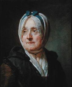 Madame Chardin. 1775. Chardin. Pastel -