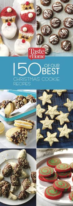150 of Our Best Christmas Cookie Recipes (from Taste of Home)
