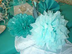 Tiffany Themed birthday Party Decorations