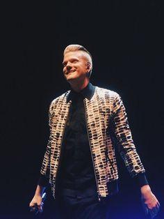 Scott with his new amazing hair