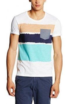 Hombre Camisetas - EDC by Esprit 076CC2K023 - Camiseta Hombre, Blanco (WHITE 2), XX-Large (Talla del fabricante: XXL)