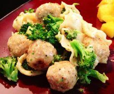 Mini Meatball & Broccoli Strganoff