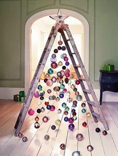 árboles de navidad con una escalera - Buscar con Google