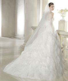 Style * SIMARA * » Wedding Dresses » Dreams 2015 Collection » by San Patrick (back)