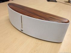 "Polk Audio Woodbourne :::  ** Bluetooth speaker   ** Mahogany wood veneer top  ** Dimensions: 24"" x 7"" x 6.88""  ** Weight: 17.5 lbs  ** USB and Ethernet ports  ** Built-in Wi-Fi, AirPlay, and Bluetooth  ** Has two 5.25-inch drivers and two 1-inch tweeters, powered by a 180-watt amplifier"