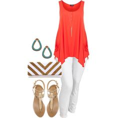 """""""Summer Pallet - Plus Size"""" by alexawebb on Polyvore"""