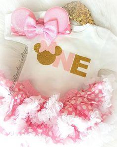 ***CUSTOMER FAVORITE*** Minnie Mouse Birthday Shirt© - Pink