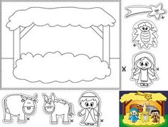 Looking for a Free Printable Christian Coloring Pages For Toddlers. We have Free Printable Christian Coloring Pages For Toddlers and the other about Coloring Pages it free. Preschool Christmas, Christmas Nativity, Christmas Activities, Christmas Crafts For Kids, Christmas Colors, Christmas Themes, Christmas Fun, Holiday Fun, Kids Crafts