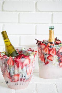 DIY floral wijnkoeler - Google zoeken