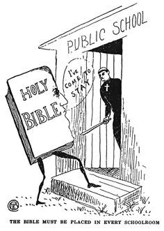 Klansmen: Guardians of Liberty, 1926 / Public Domain, Wikimedia Commons Babylon The Great, Praise The Lords, Wikimedia Commons, Political Cartoons, The Good Old Days, Public School, Public Domain, Catholic, Perspective