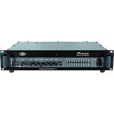 Ampeg SVT-3PRO Pro Series Tube/Solid-State Hybrid Bass Amplifier Head, 450 Watt >>> Visit the image link more details.