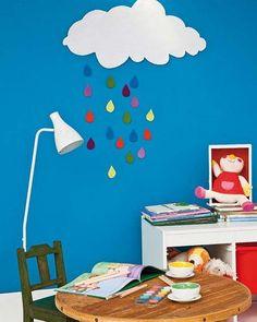 Agradable rincón para niños - http://decoracion2.com/agradable-rincon-para-ninos/62360/ #DecorarDormitorio, #IdeasParaDecorar, #LugarParaNiños, #Manualidades, #RinconInfantil, #SitioParaJugar