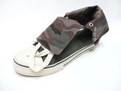 ARIZONA Women's SARA Green Camo Print trainers sneakers shoes 6  8 8.5 NEW #ArizonaJeansCompany #RunningCrossTraining