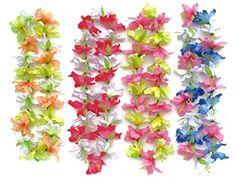 BOSHENG Hawaiian Ruffled Simulated Colorful Luau Silk Flower Leis Necklaces ,Set of 4 (8 SETS) BOSHENG http://www.amazon.com/dp/B01DX4IHVI/ref=cm_sw_r_pi_dp_oKBbxb088DVJZ