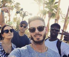 M. Pokora : Découvrez ses photos de vacances avec Michael Youn et Omar Sy
